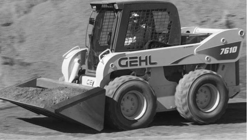 GEHL 6620 Series Skid Loaders Service Repair Manual Download