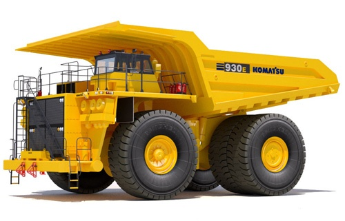 Komatsu 930E-4 Dump Truck Service Shop Manual(A31164 & UP)