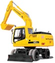 Hyundai Wheeled Excavator R180W-9S Service Repair Manual Download