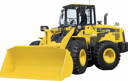 Komatsu WA270-7 Wheel Loader Service Shop Manual(SN:80001 and up)