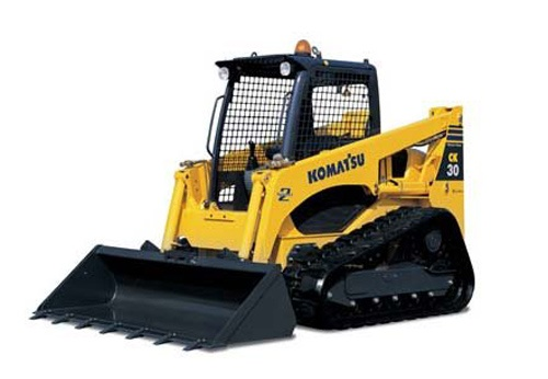 Komatsu CK30-1 Crawler Skid-Steer Loader Service Shop Manual(F30001 and UP)