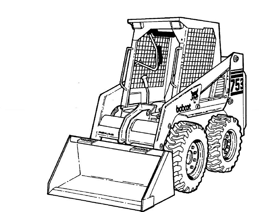 Bobcat 753 Loader Service Repair Manual Download