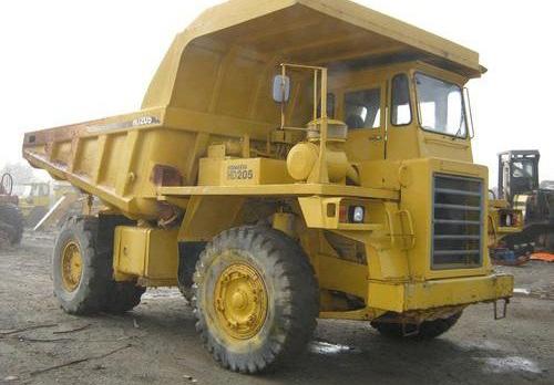 Komatsu HD205-3 Dump Truck Service Shop Manual(1003 and up)