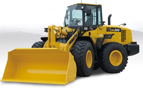 Komatsu WA200-7 Wheel Loader Service Shop Manual(SN:80001 and up)