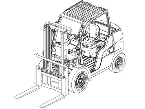 Caterpillar Cat DP80 DP90 lift Trucks Service Manual Download(SN:T32B-10001-49999 60001-99999)