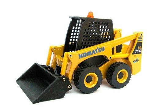 Komatsu SK714-5 SK815-5 Skid-Steer Loader Service Shop Manual