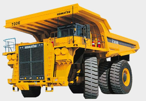 Komatsu 730E-8 Dump Truck Service Shop Manual(A40003 & UP)