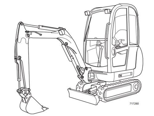 JCB 8027Z 8032Z Mini Excavator Service Repair Manual Download