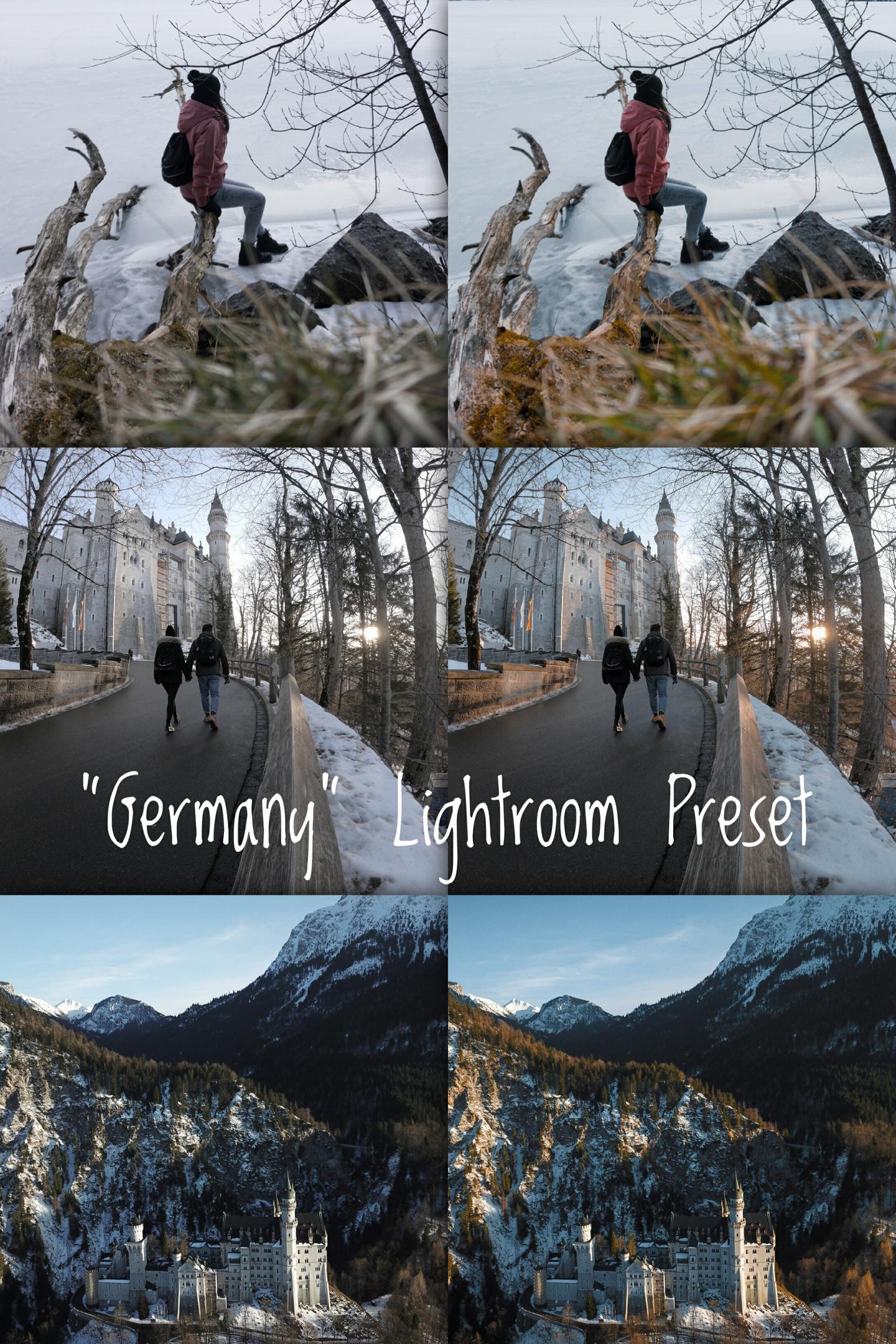 """Germany"" 1x Lightroom Preset by Sheck"