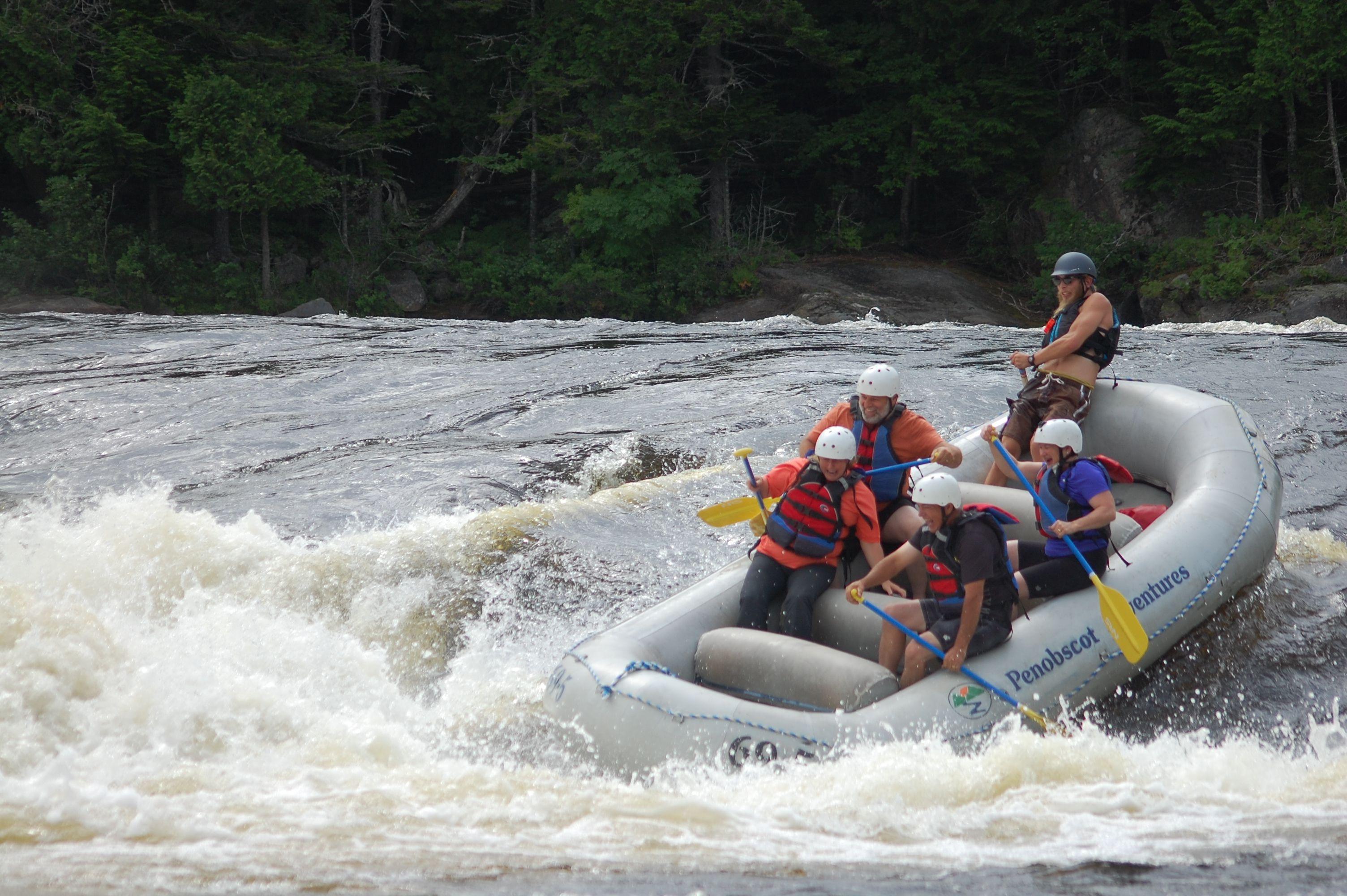 Penobscot Rafting Video 07/22/2016