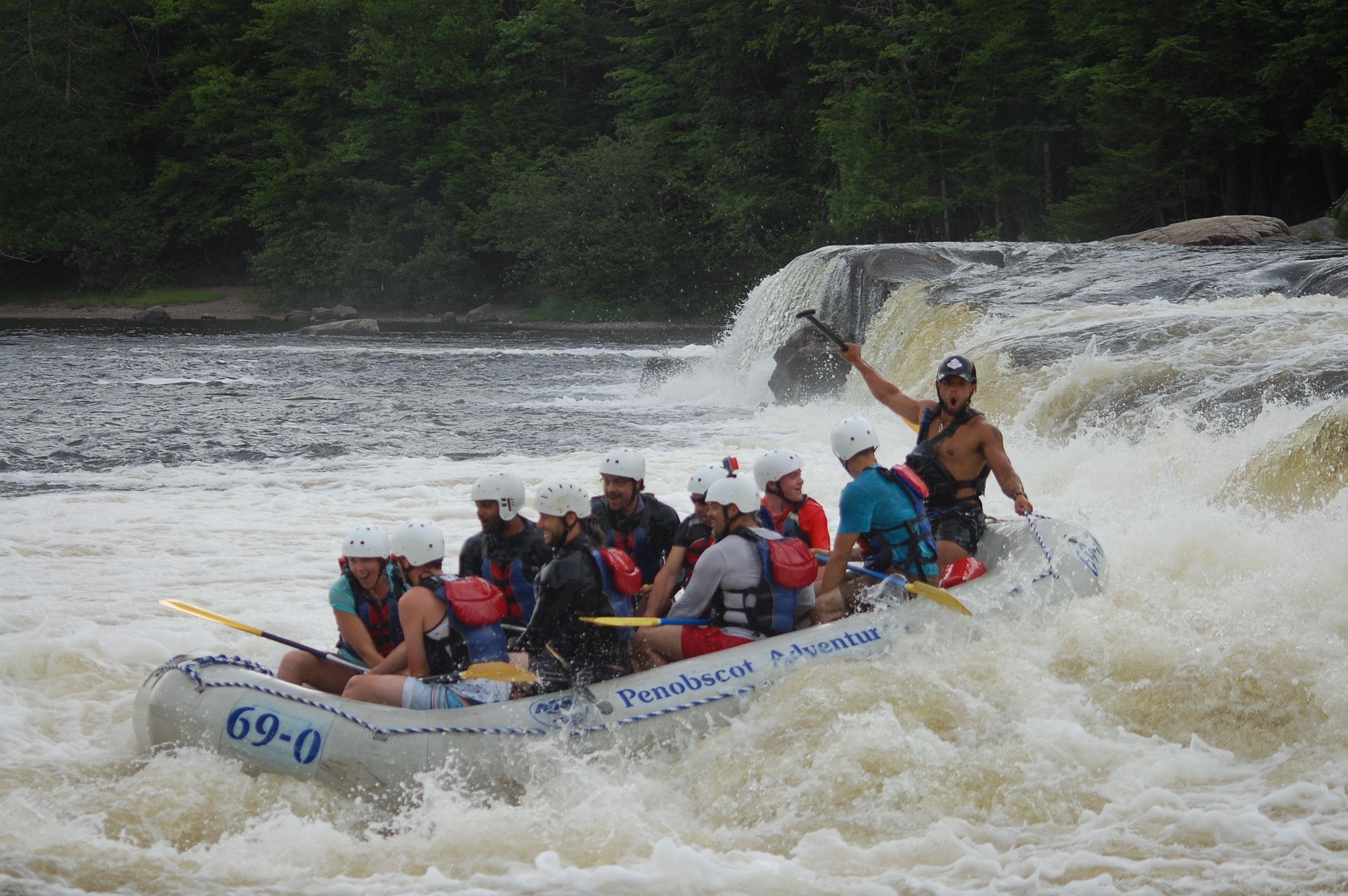 Penobscot Rafting Video 07/23/2016