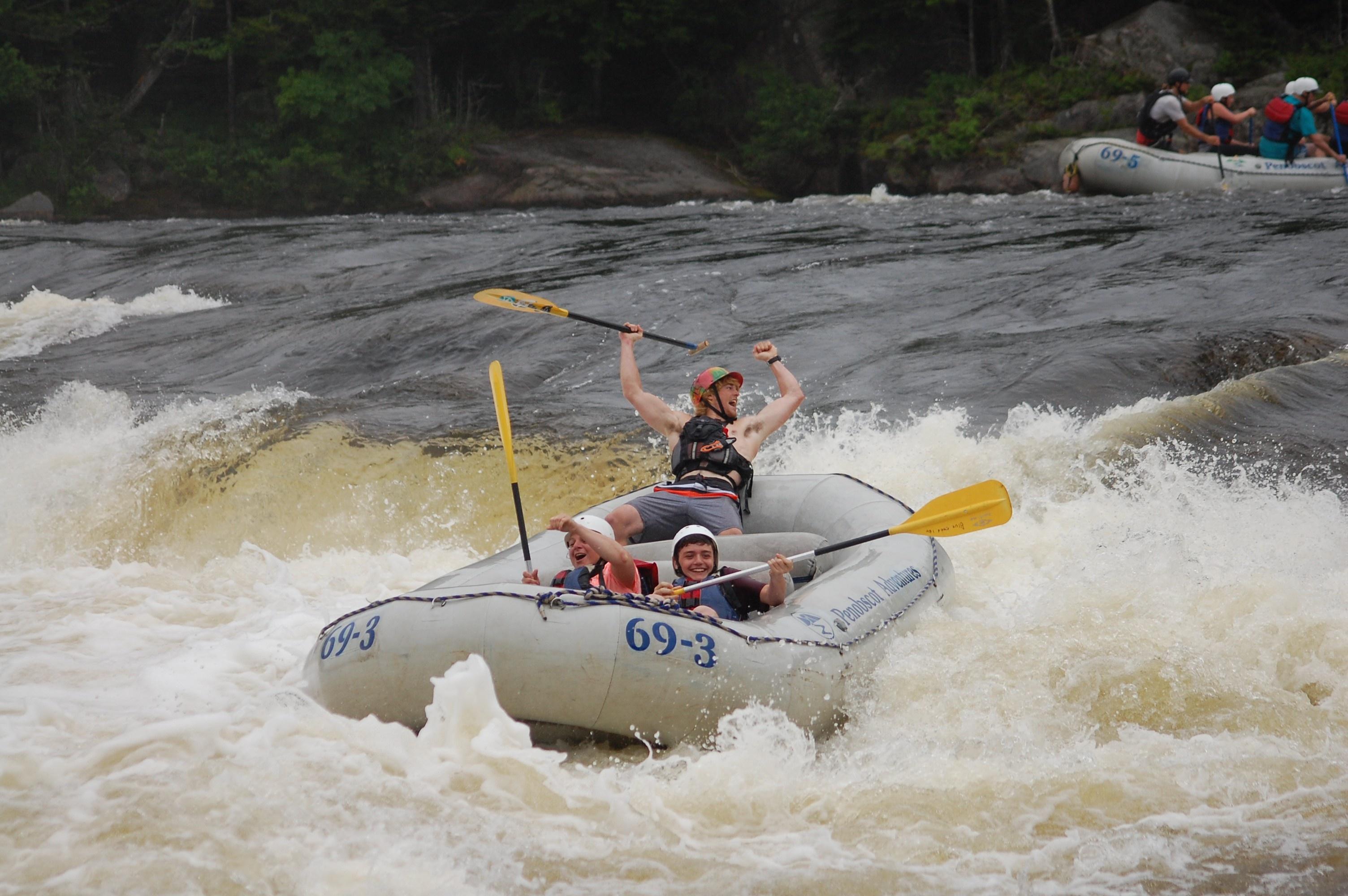 Penobscot Rafting Video 07/18/2016