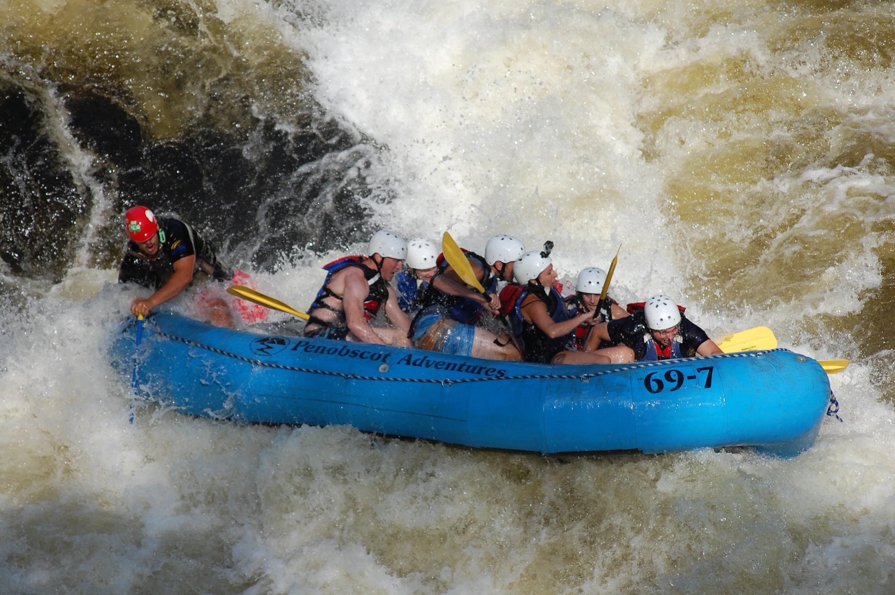 Penobscot Rafting Video 09/03/2016