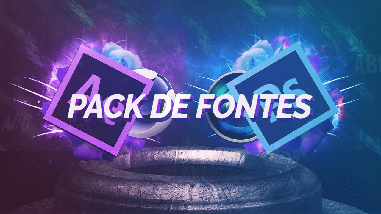 Pack de fontes - FREE