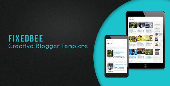 Fixedbee Creative Blogger Template