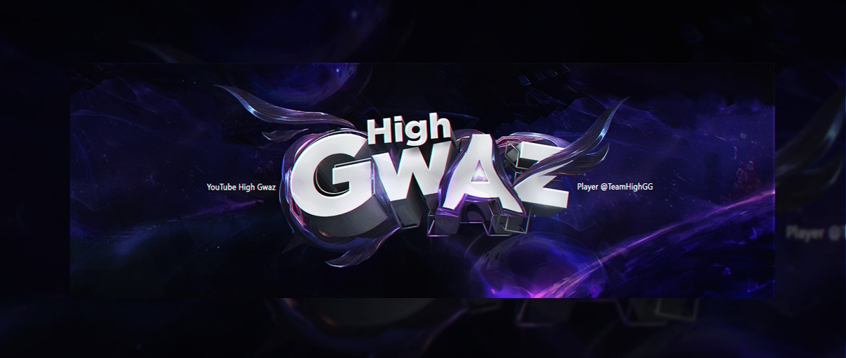 Header for Gwaz | Template PSD (Photoshop)