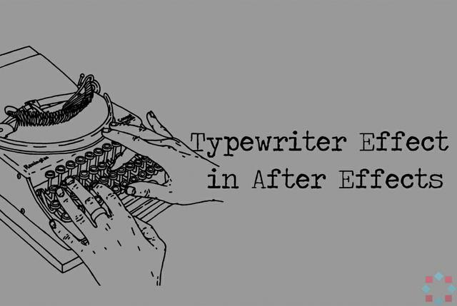 typewriter intro after effects template  typewriter ef