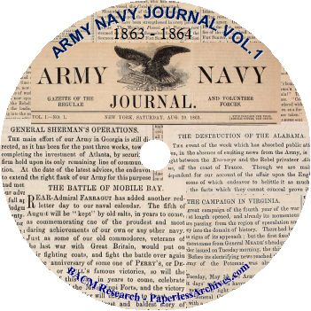 Civil War: Army Navy Journal & Gazette Volume 1 (1863 - 1864) - Download