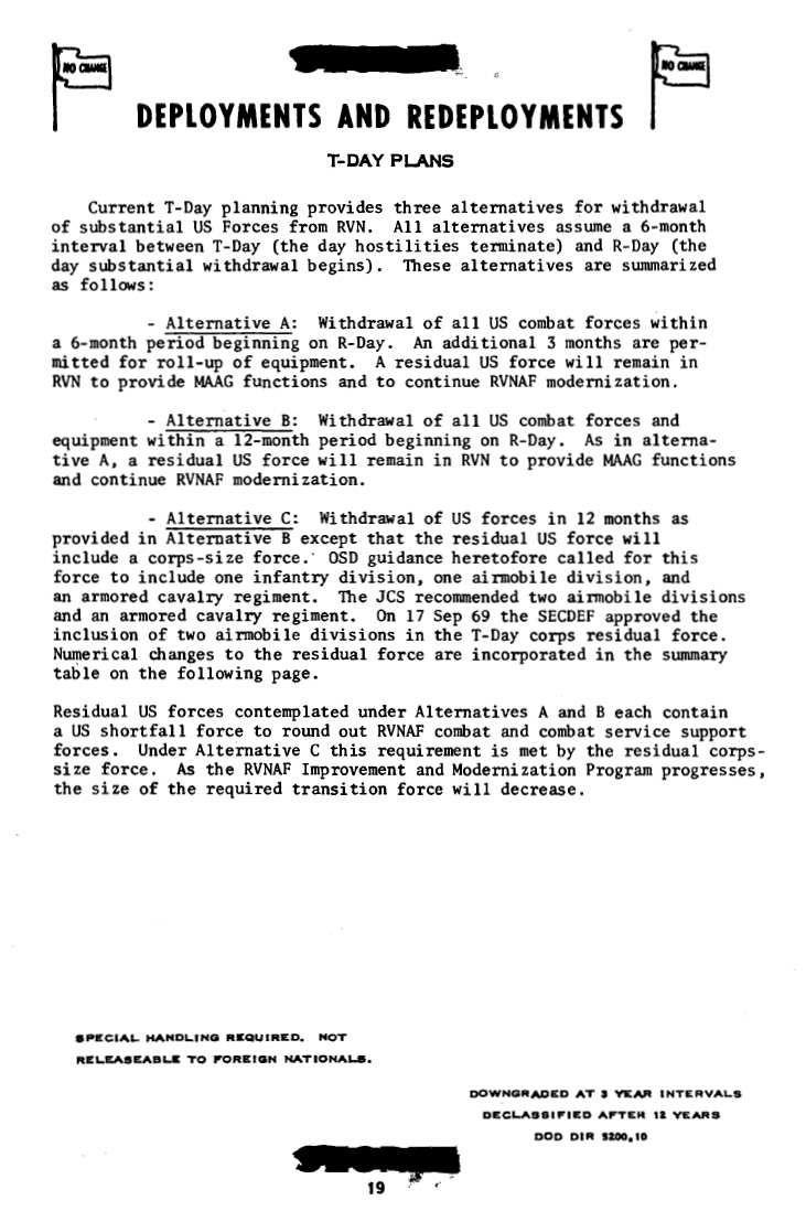 Vietnam War MACV Command Army Activities SE Reports (1968-1972)