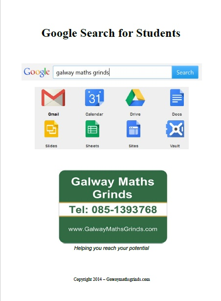 Google Search for Students