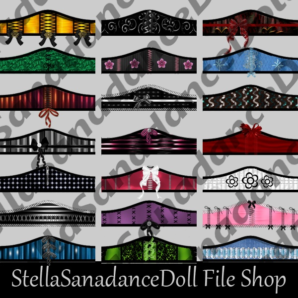 S170 Corset, 109 Addons, NO RESELL