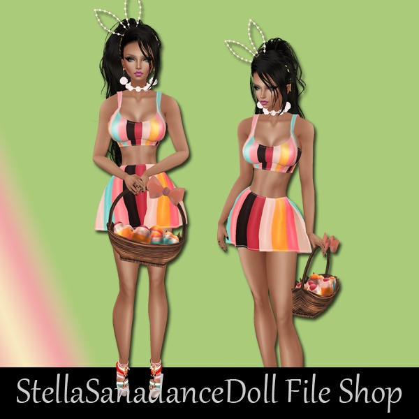 S239 Easter Girl, NO RESELL