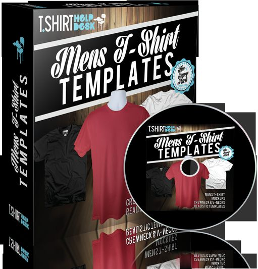 Mens T-Shirt Templates