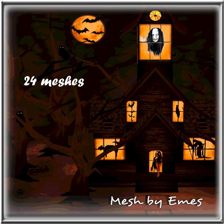 Halloween Bundle 24 Meshes