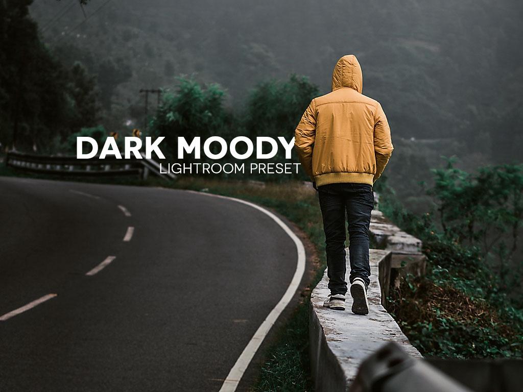 Dark Moody - Lightroom Preset