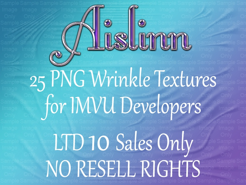 25 PNG Wrinkle Textures for IMVU