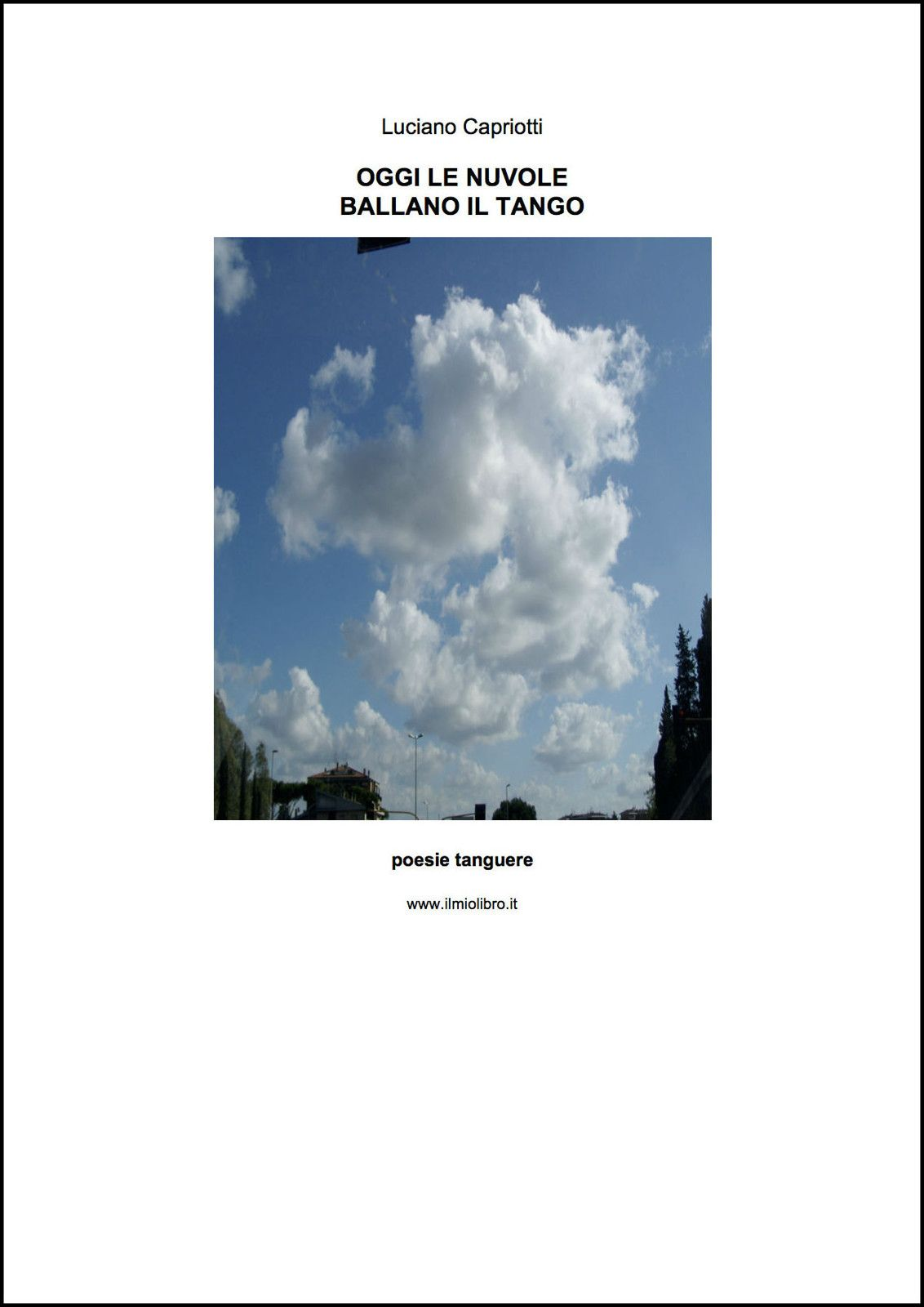 Oggi le Nuvole Ballano il Tango - epub