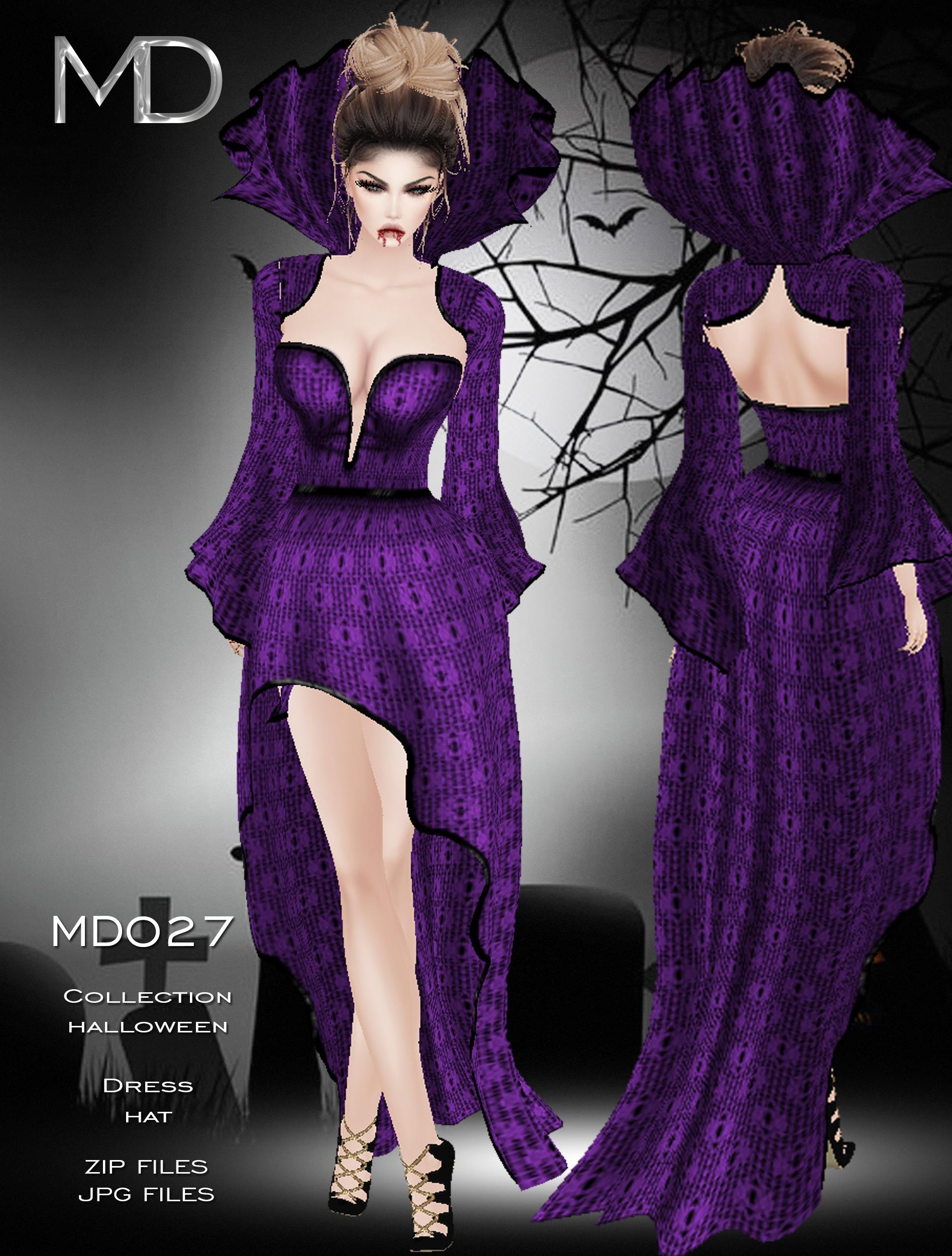 MD027 - Texture - Halloween