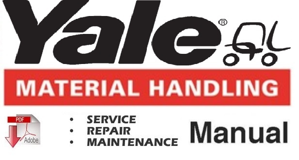 Yale ESC030EA  Lift Truck Service Repair and Maintenance Manual