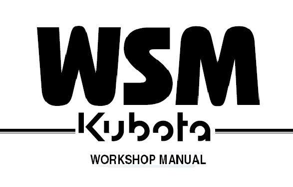KUBOTA KC100HD DUMPER Service Repair Workshop Manual