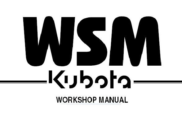 KUBOTA KC100HD DUMPER Service Repair Workshop Manual