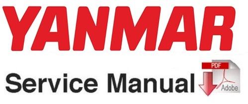 Yanmar SV100 Excavator Service Repair Workshop Manual