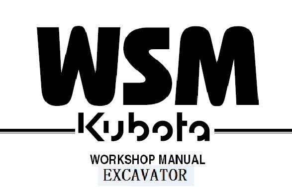Kubota KH36 KH41 KH51 KH61 KH66 KH91 KH101 KH151 Excavator Service Repair Manual