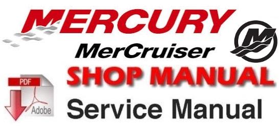 Mercury MerCruiser #30 Marine Engines 496CID / 8.1L Gasoline Engine Service Manual 1998-UP
