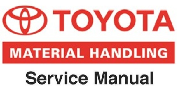 Toyota Electric Walkie Adjustable Straddle Stacker 6BWS10, 6BWS13 Service Guide