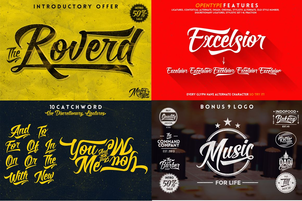 Roverd + Bonus 10 Vintage Logo 50% Off (Regular $49)