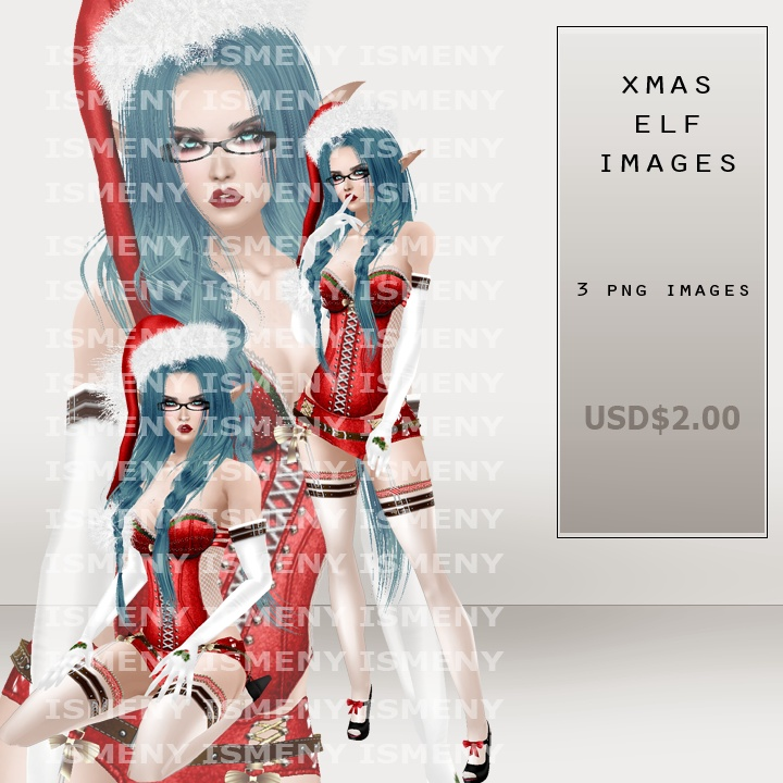Xmas Elf PNG Images