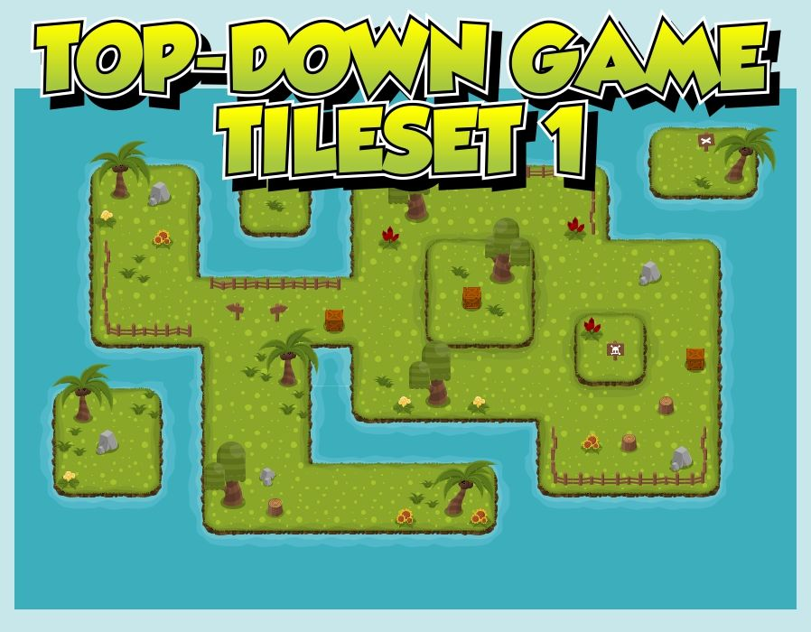 Greenland - Top-Down Game Tileset