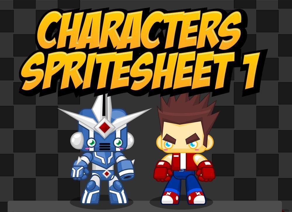 GoodGuy & Robo - Game Sprites