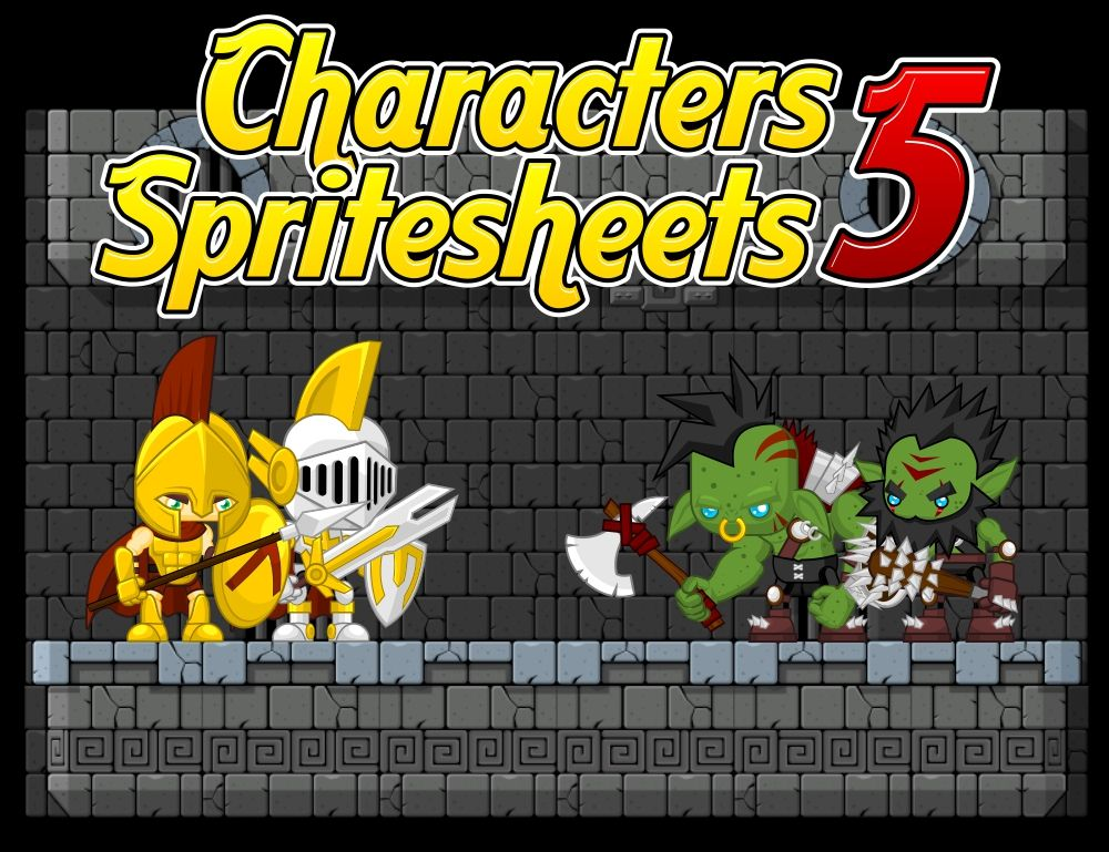 Knight vs Orc - Game Sprites