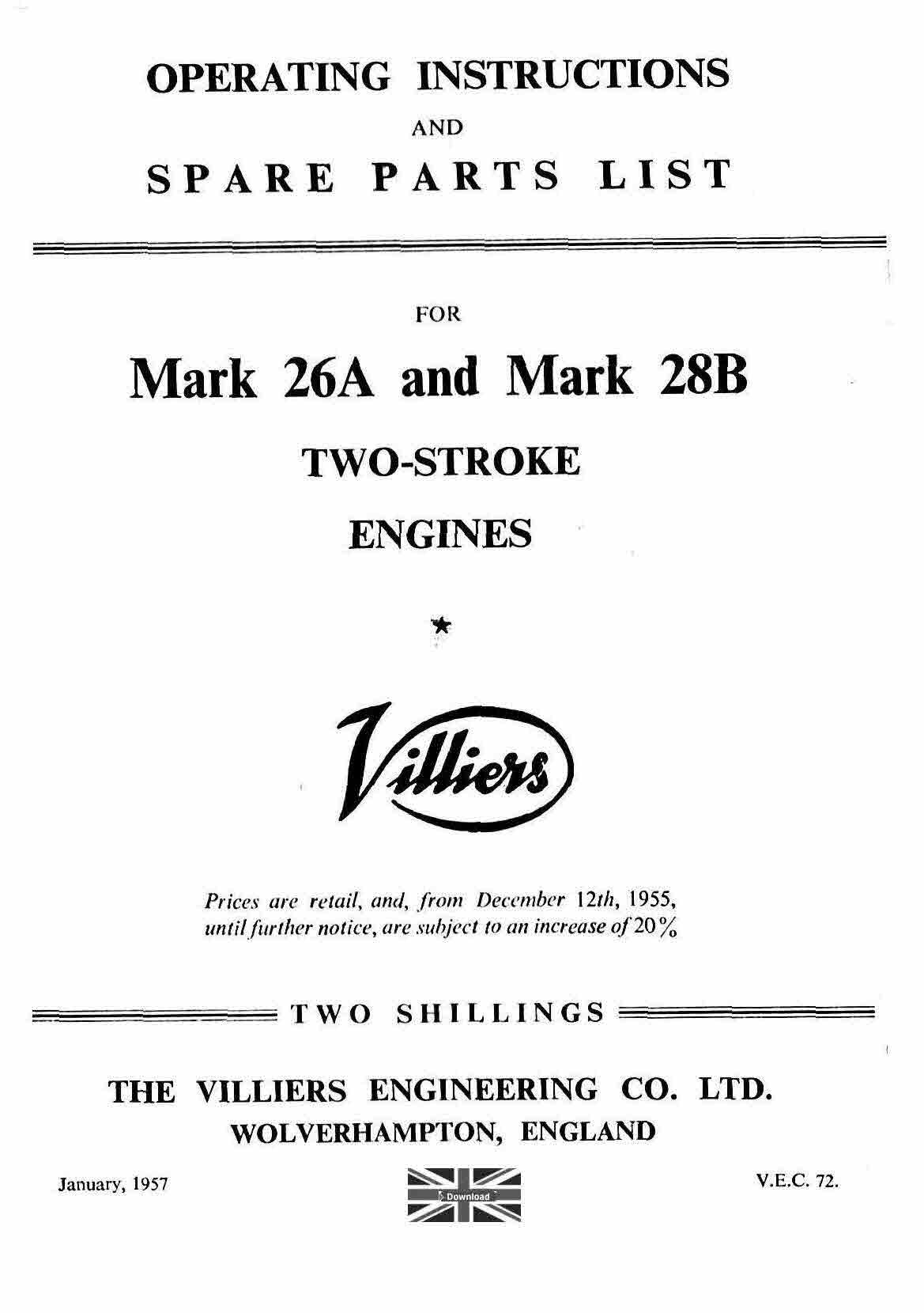 Villiers Stationary Engines