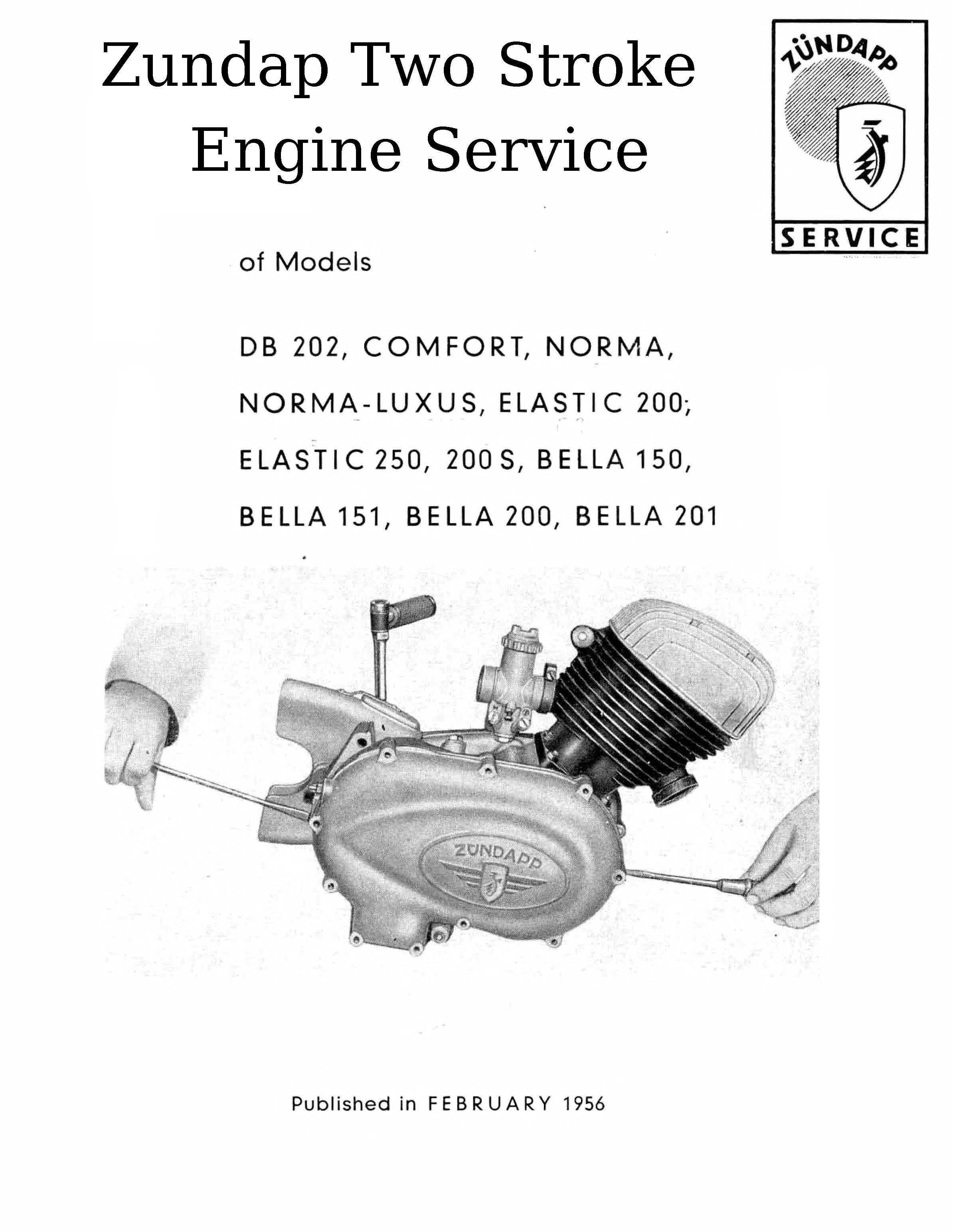 100cc Engine Diagram 70cc Zundapp Manuals For Mechanics Archive Themanualman Rh Sellfy Com Bajaj Discover Scooter