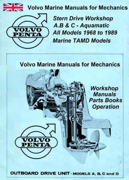 volvo marine engine service manuals for mechanics rh sellfy com Volvo Penta 290 Sterndrive volvo penta stern drives service manual