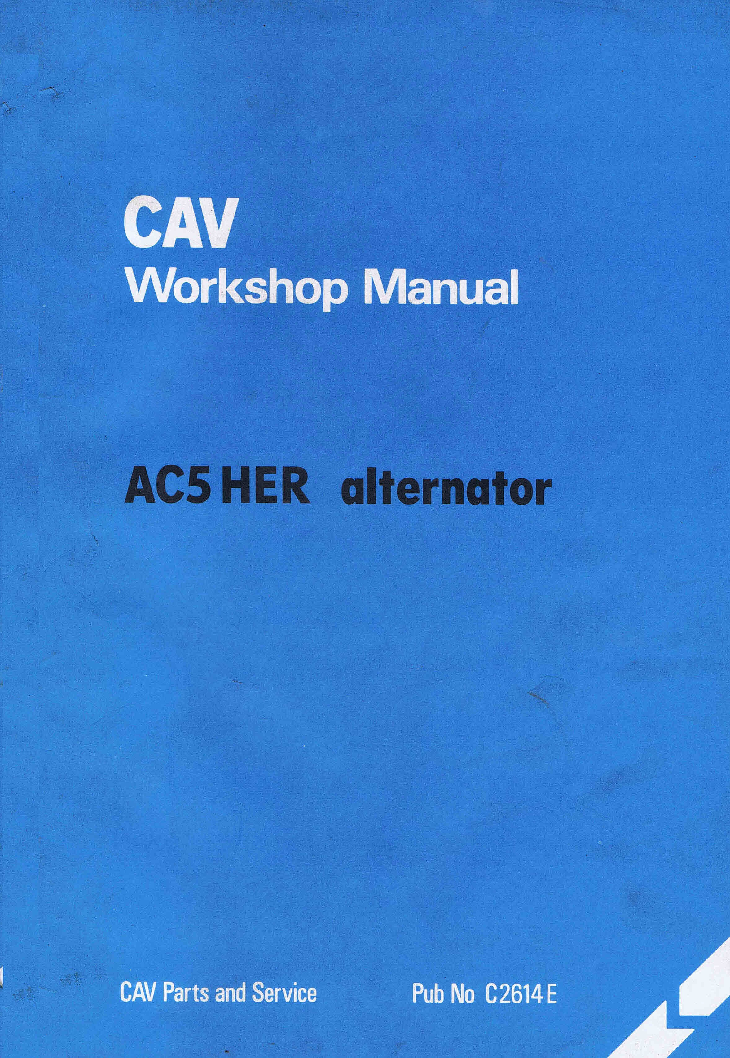 cav ac5 her alternator workshop manual themanualman rh sellfy com