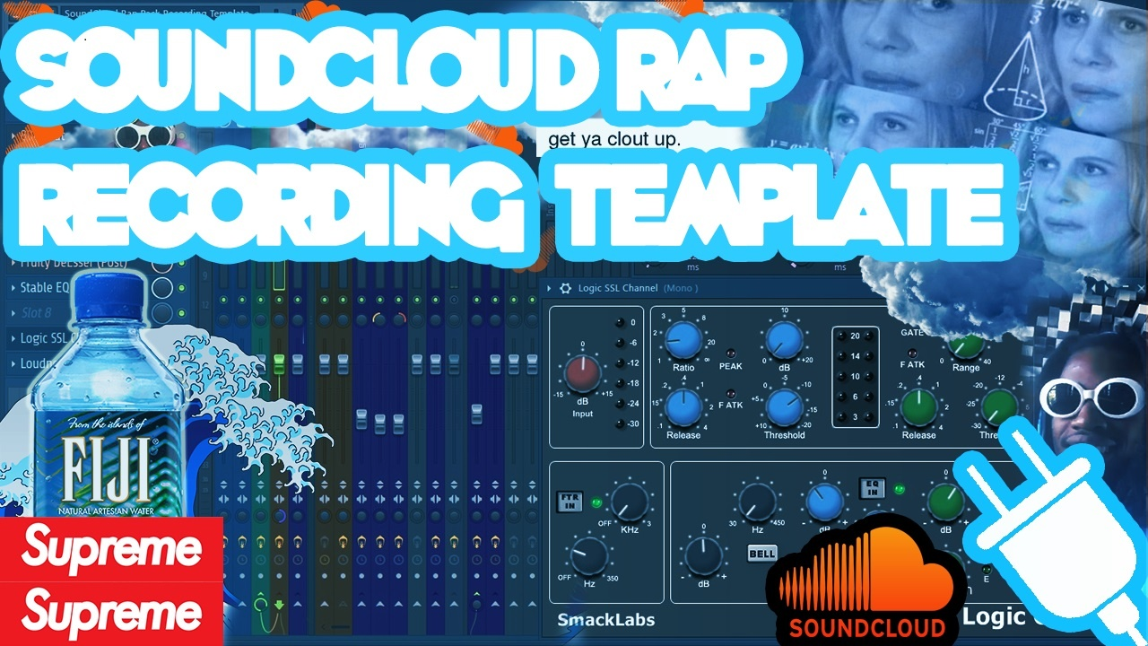 SoundCloud Rap Recording Template