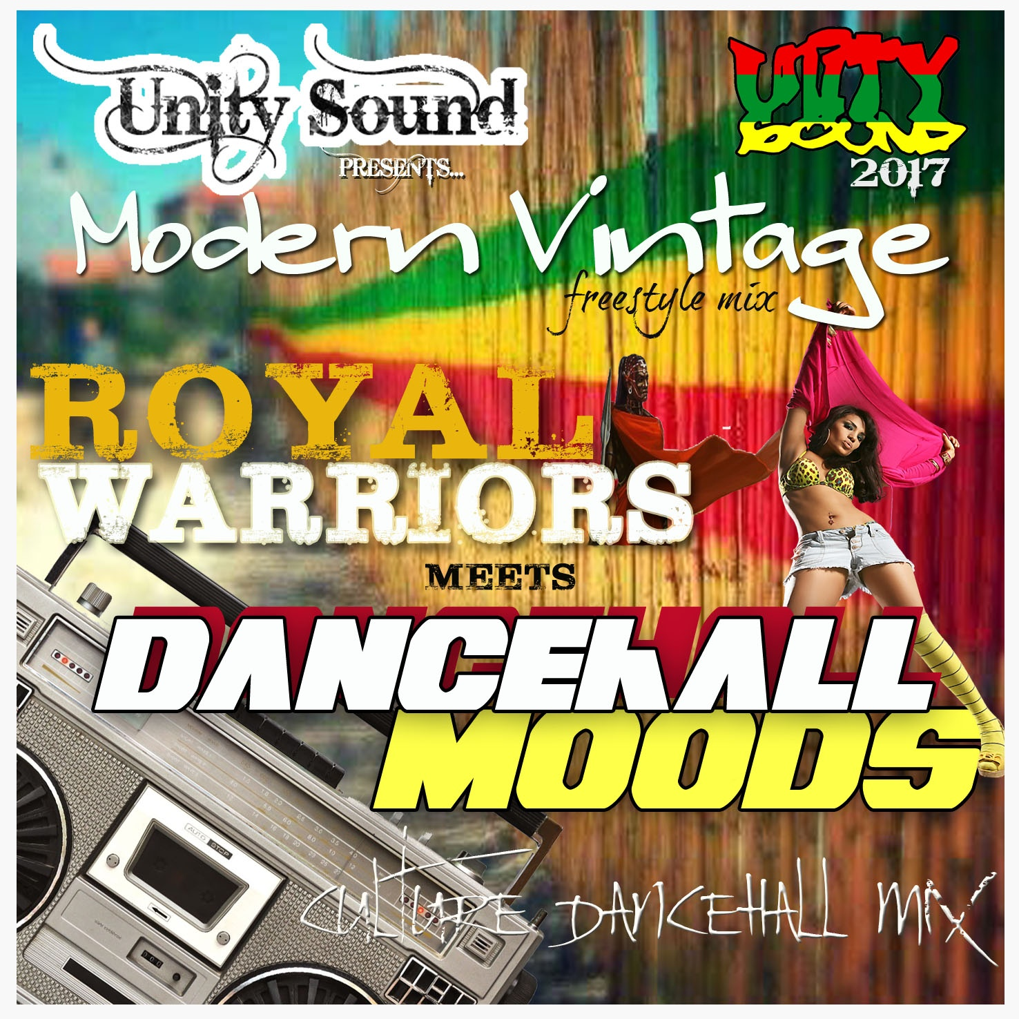 [Single-Tracked Download] Unity Sound - Royal Warriors meets Dancehall Moods - 2017
